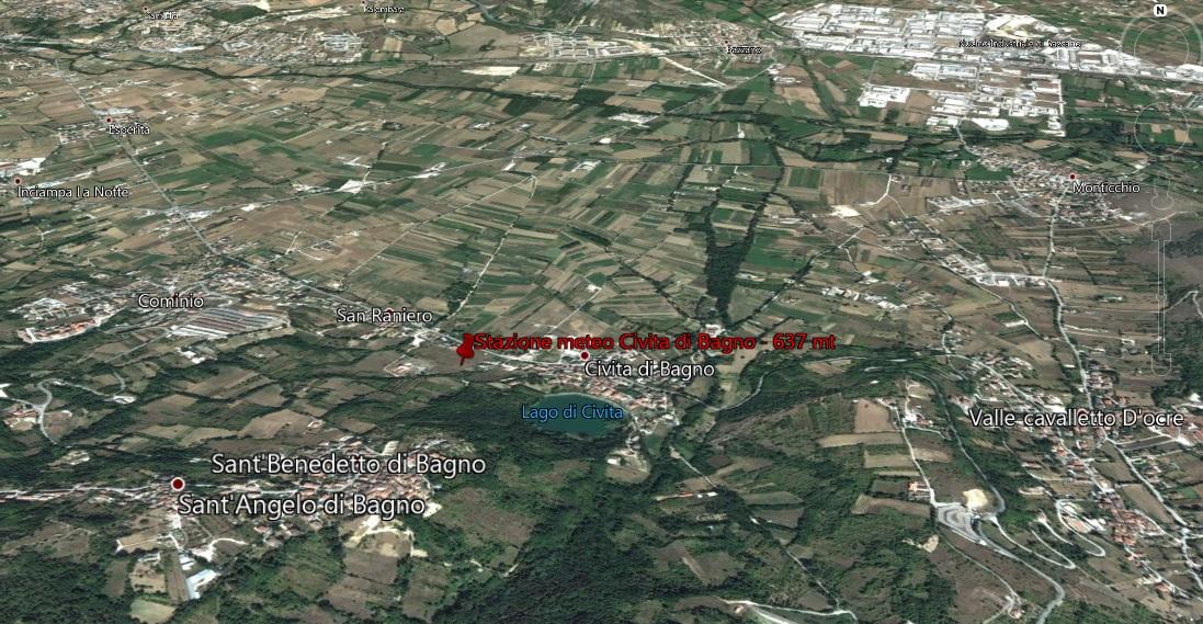 Bagno Piccolo L Aquila.Stazione Meteo Di Civita Di Bagno Descrizione